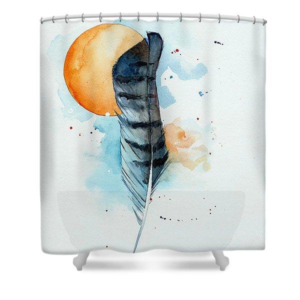 Sunfeather Shower Curtain