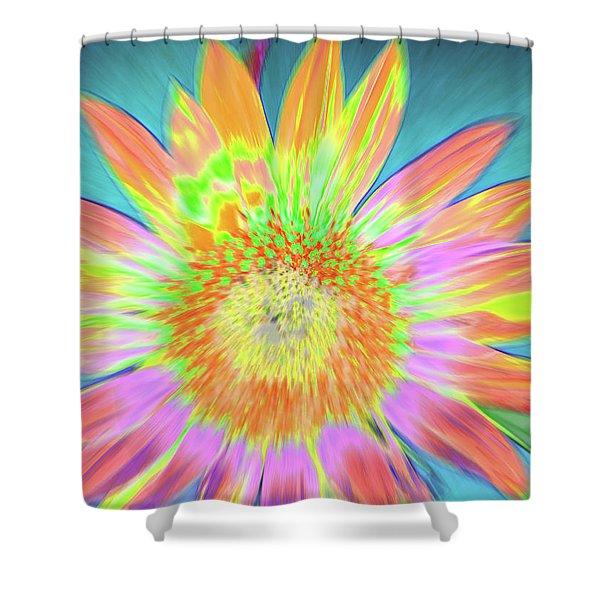 Sunfeathered Shower Curtain