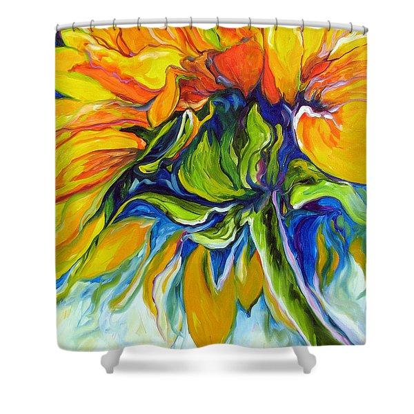 Sunflower Day Shower Curtain