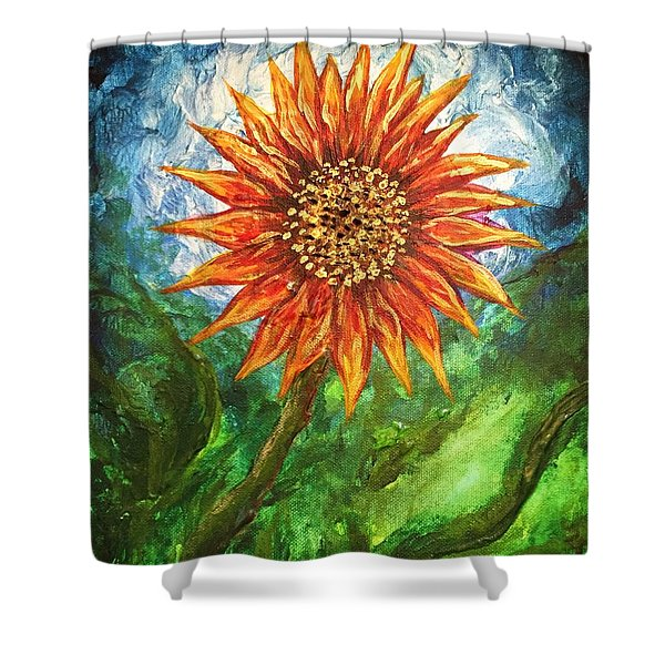 Sunflower Joy Shower Curtain