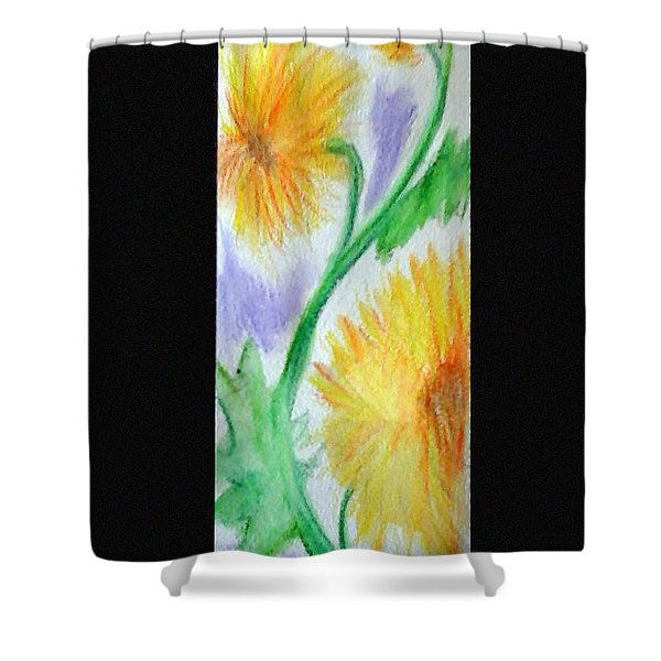 Sunflowers 27 Shower Curtain