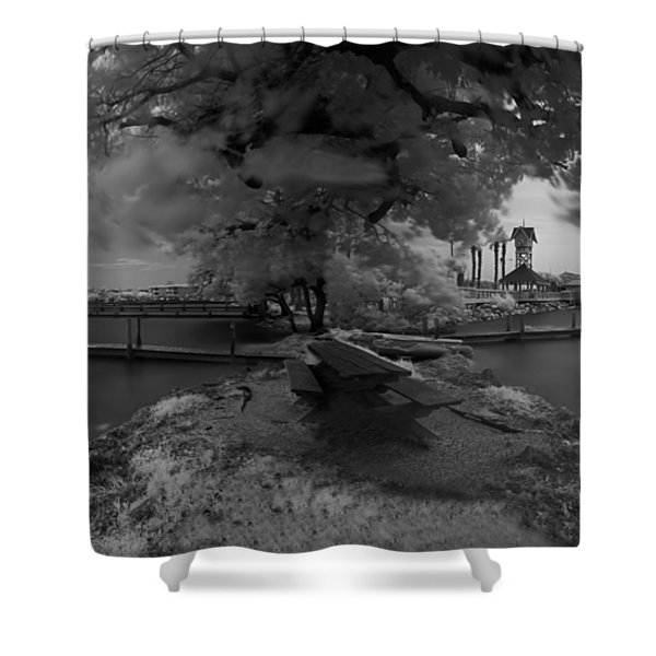 Sunken Boats Shower Curtain