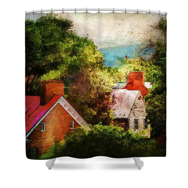 Sunkissed Shower Curtain