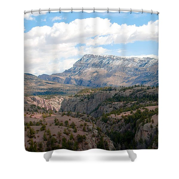 Sunlight Creek Of Wy Shower Curtain