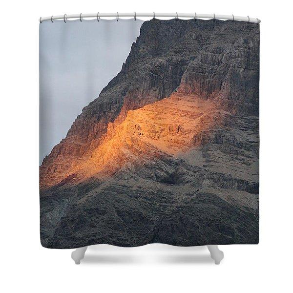 Sunlight Mountain Shower Curtain