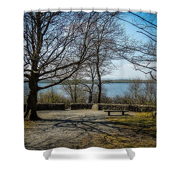Sunny Afternoon At Lough Coole Shower Curtain