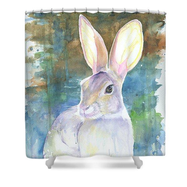 Sunny Bunny Shower Curtain