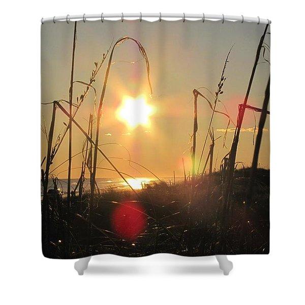 Sunny Dunes Shower Curtain