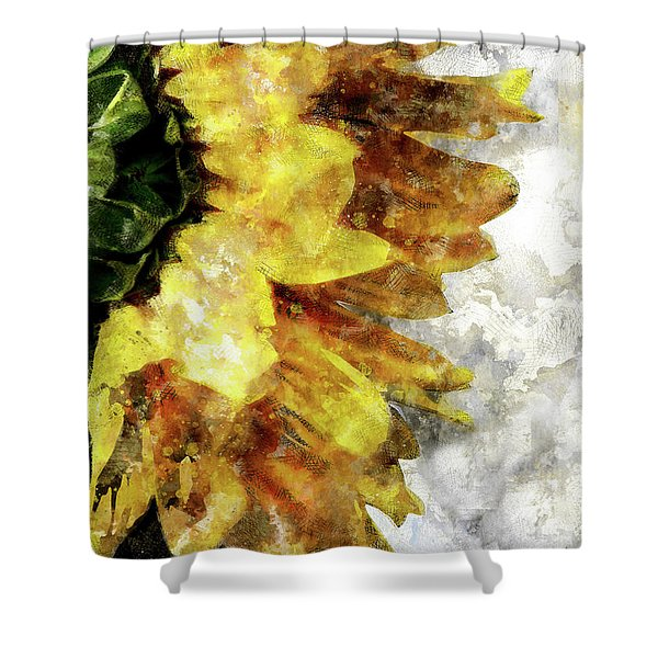 Sunny Emotions Shower Curtain