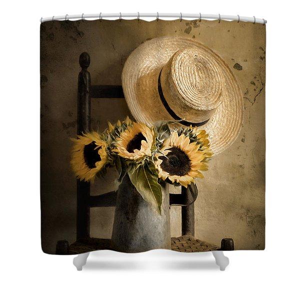 Sunny Inside Shower Curtain