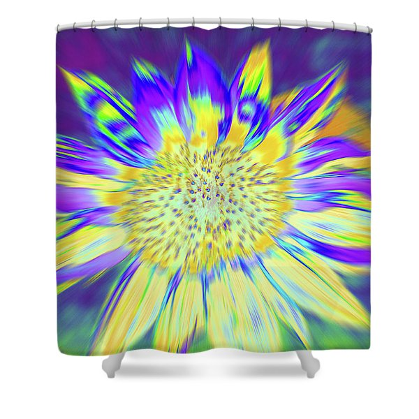 Shower Curtain featuring the photograph Sunpopped by Cris Fulton