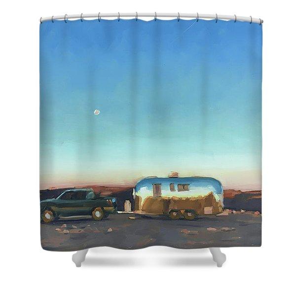 Sunrise At Gooseneck Canyon. Shower Curtain