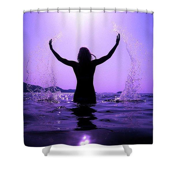 Sunrise Awakening Shower Curtain