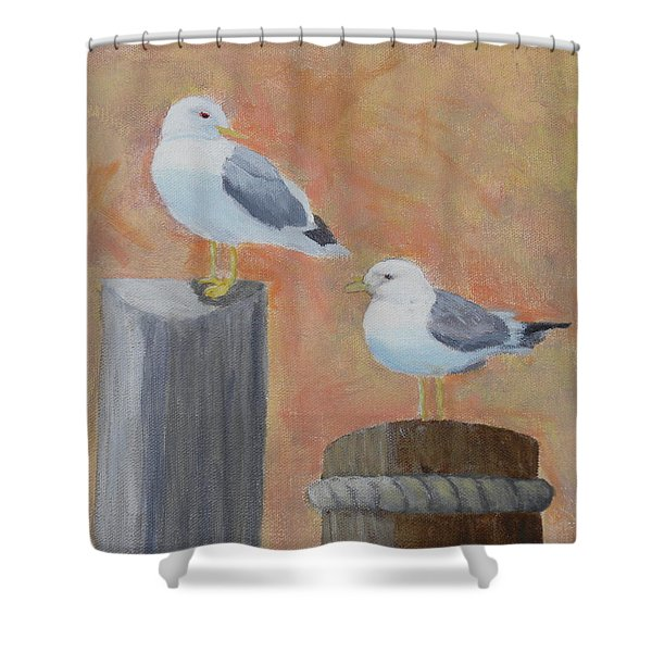 Sunrise Delight Shower Curtain