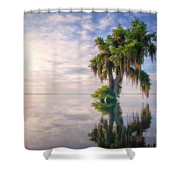 Sunrise Dip Shower Curtain