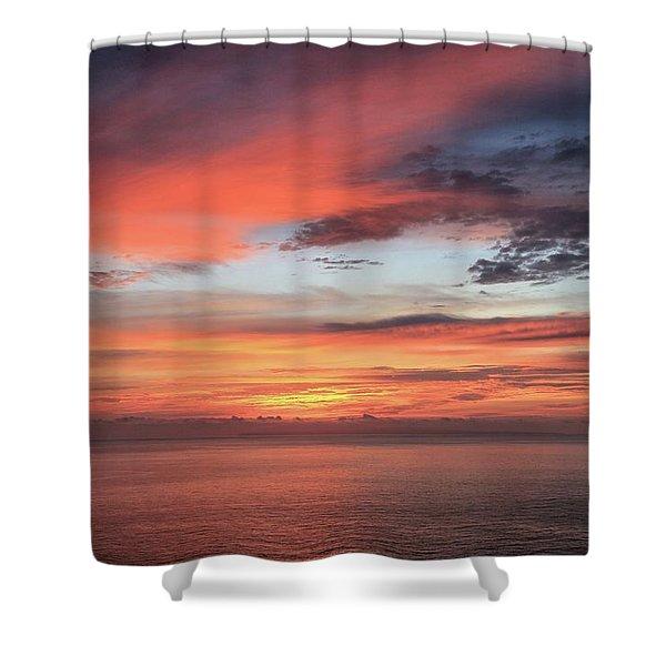Sunrise From Koko Head Shower Curtain