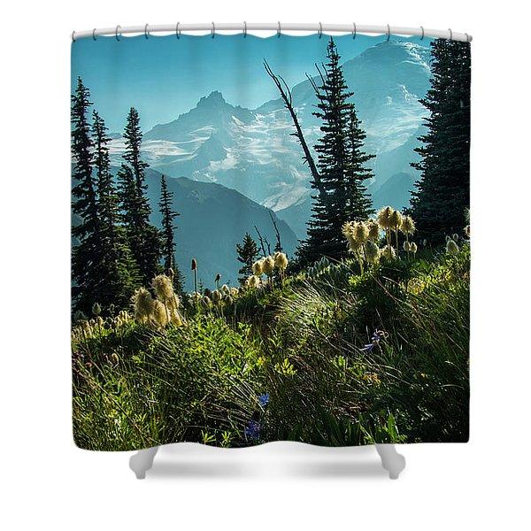 Sunrise Heaven Shower Curtain