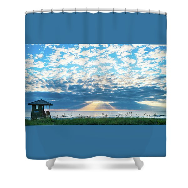 Sunrise Hope Delray Beach Florida Shower Curtain