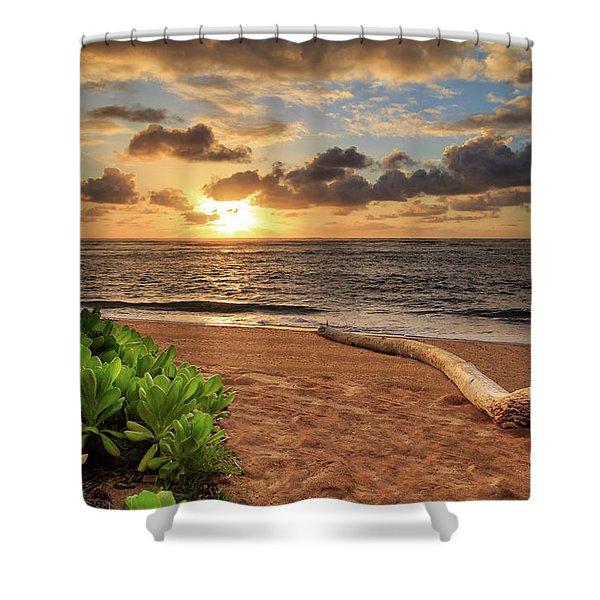 Sunrise In Kapaa Shower Curtain
