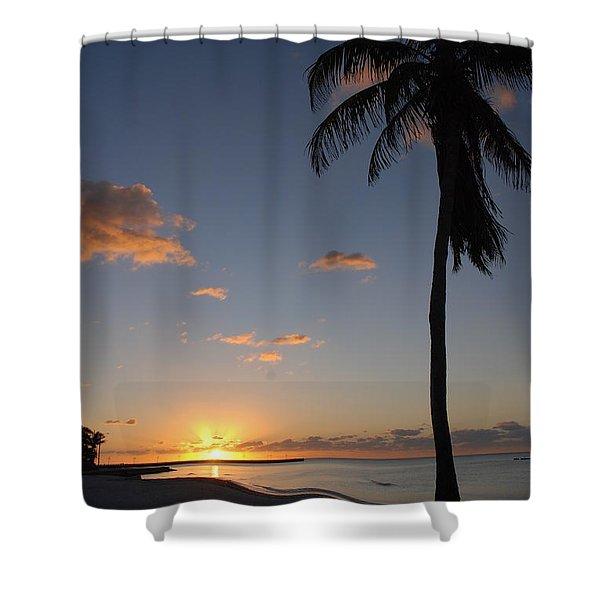 Sunrise In Key West 2 Shower Curtain