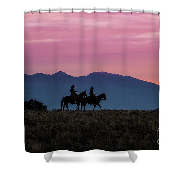 Sunrise In The Lost River Range Wild West Photography Art By Kay Shower Curtain