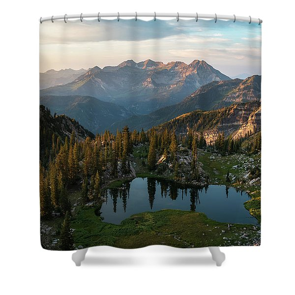 Sunrise In The Wasatch Shower Curtain
