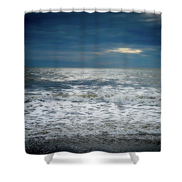 Sunrise-kennebunk Beach Shower Curtain