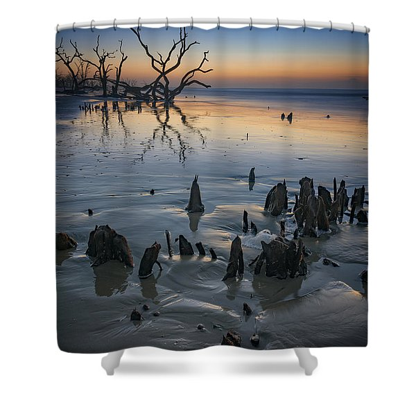 Sunrise On Edisto Island Shower Curtain
