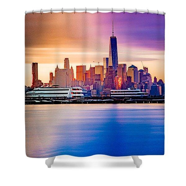 Sunrise On Freedom Shower Curtain