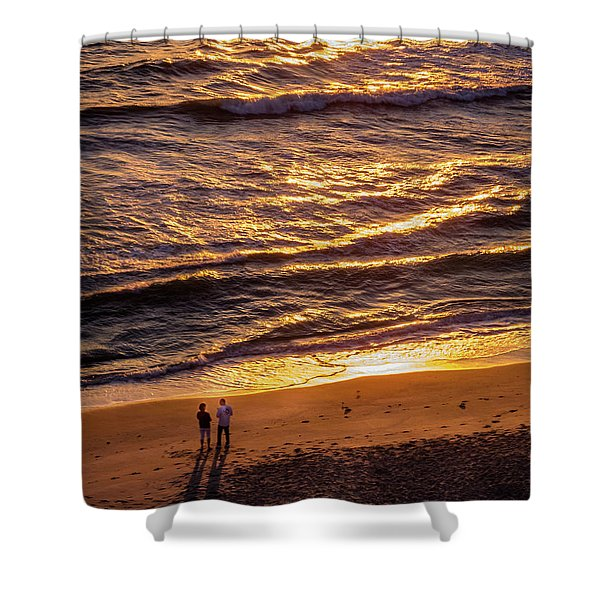 Sunrise On Melbourne Beach Shower Curtain