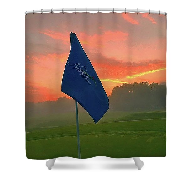 Sunrise On The 8th Shower Curtain
