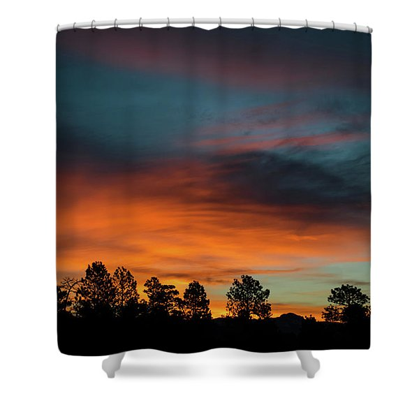 Shower Curtain featuring the photograph Sunrise Over The Southern San Juans by Jason Coward