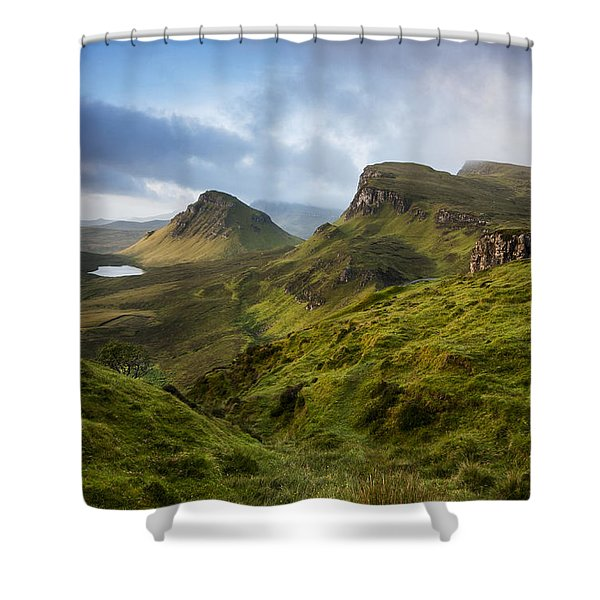 Sunrise Over The Trotternish Ridge Shower Curtain