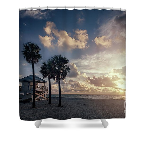 Sunrise Paradise Shower Curtain