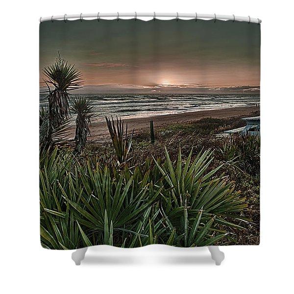 Sunrise Picnic Shower Curtain