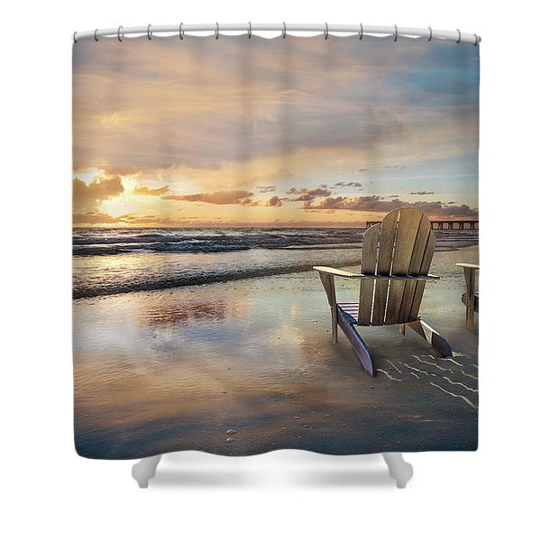 Sunrise Romance Shower Curtain