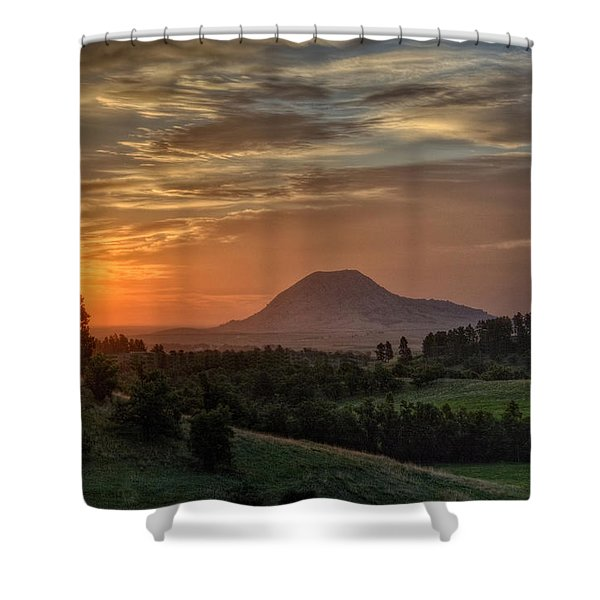 Sunrise Serenity  Shower Curtain