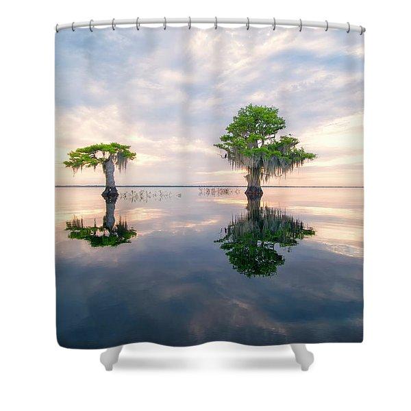 Sunrise Serenity Shower Curtain