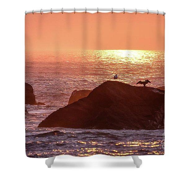 Sunrise, South Shore Shower Curtain