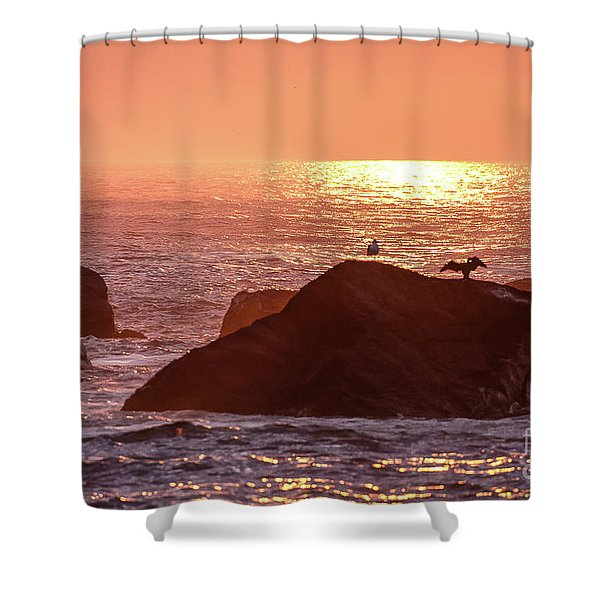 Sunrise, South Shore Shower Curtain