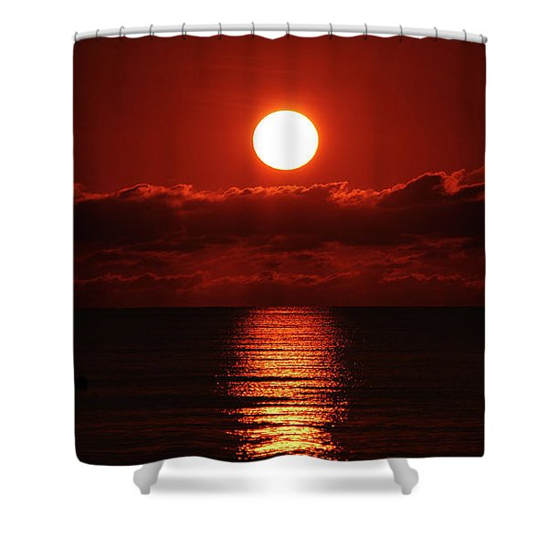 Sunrise Spotlight Delray Beach Florida Shower Curtain