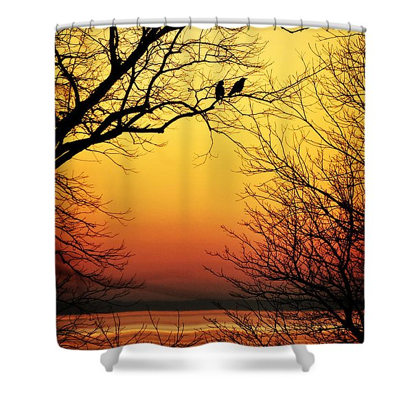 Sunrise Submission Shower Curtain