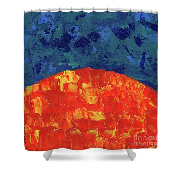 Sunrise Sunset 1 Shower Curtain