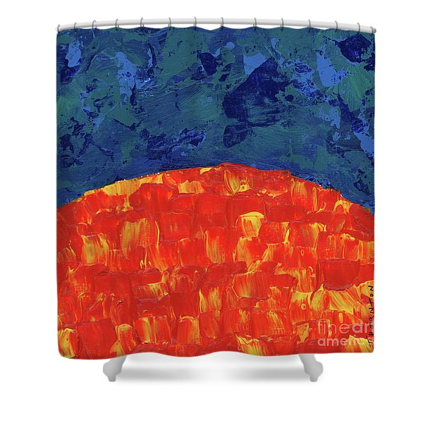 Sunrise Sunset 2 Shower Curtain