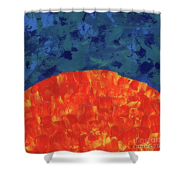 Sunrise Sunset 3 Shower Curtain