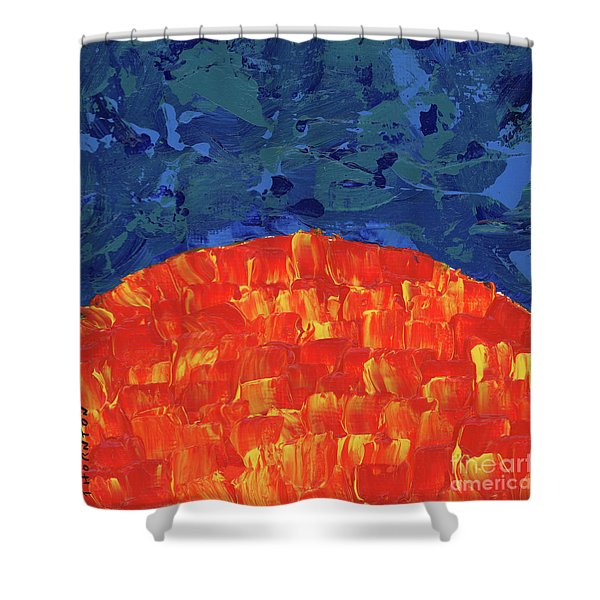 Sunrise Sunset 5 Shower Curtain