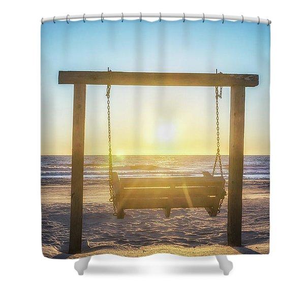 Sunrise Swings Shower Curtain