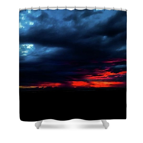 Sunset #10 Shower Curtain