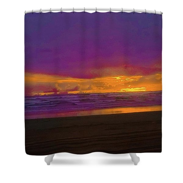 Sunset #3 Shower Curtain