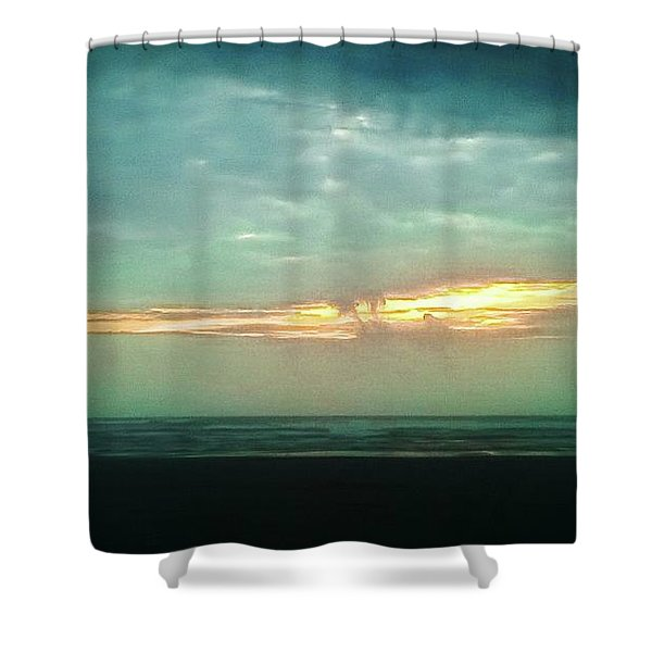 Sunset #4 Shower Curtain